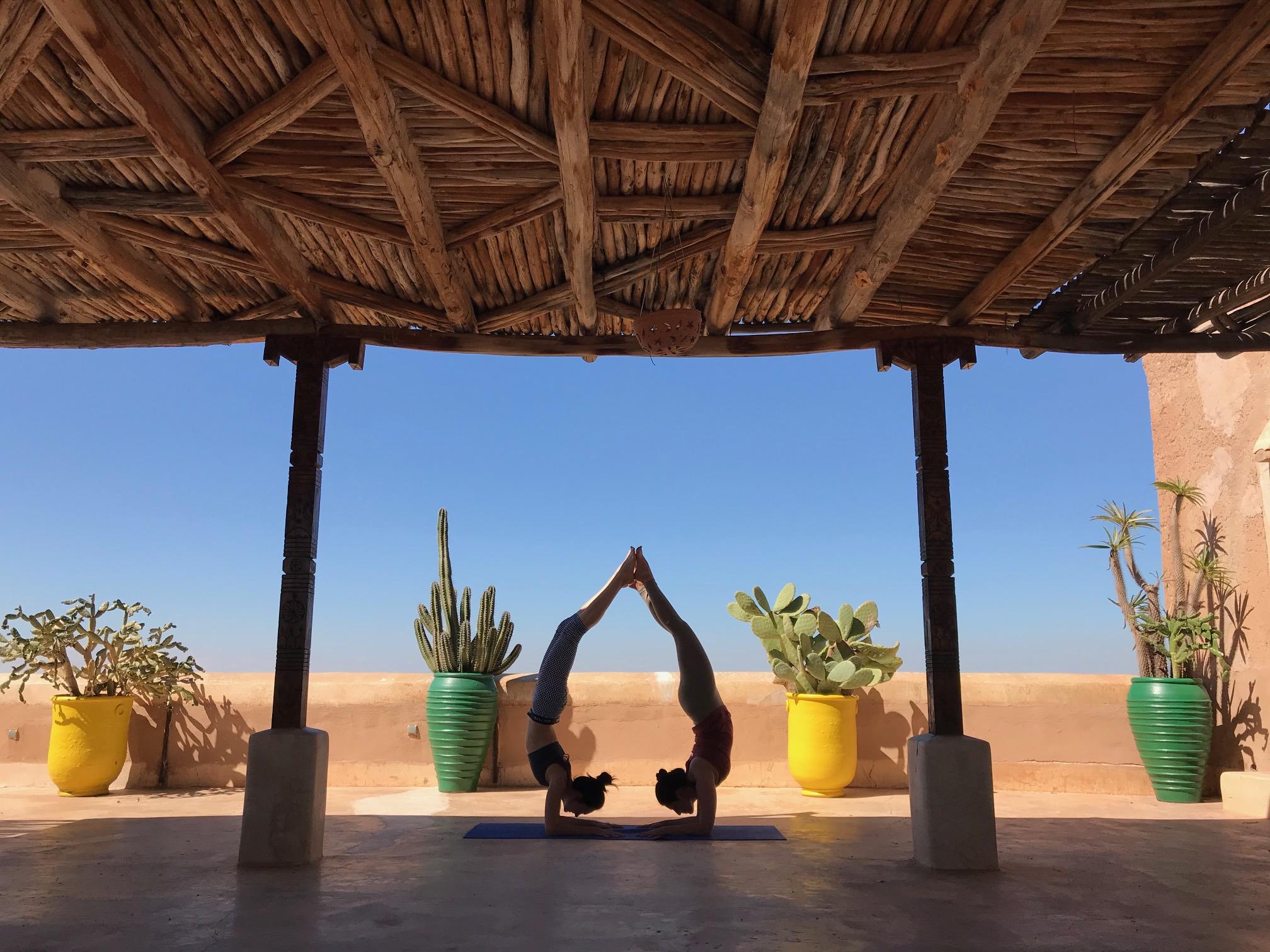 Morocco Yoga Retreat Yoga Pose